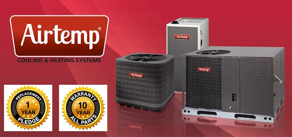 Airtemp air conditioning and heating products