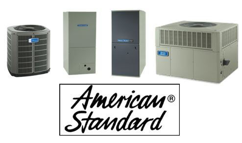 American Standard air conditioning and heating products